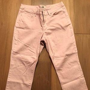 Vintage America Boho Crop Jeans Size 12